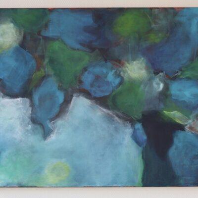 acryl auf leinwand - 80x60 - verkauft
