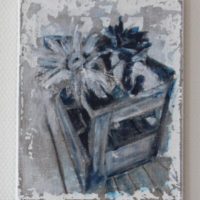 acryl auf leinwand - 24x30 - 380chf