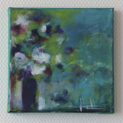 acryl auf leinwand - 20x20 - verkauft