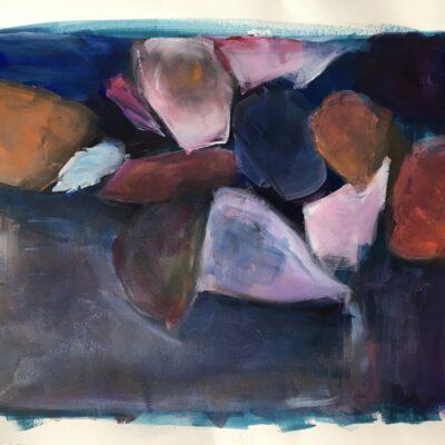 acryl auf papier - 65x50 - 230chf